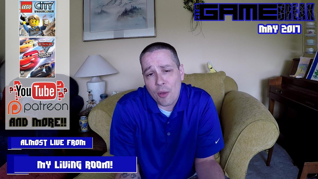 Gamebreak: May 2017 with Brian (Almost Live from my living room!) – HTG