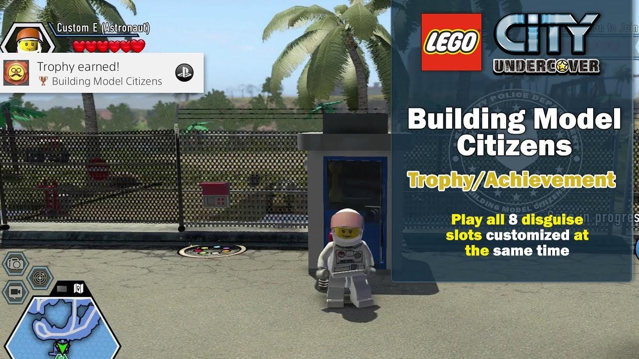 Lego City Undercover: Building Model Citizens Trophy/Achievement – HTG