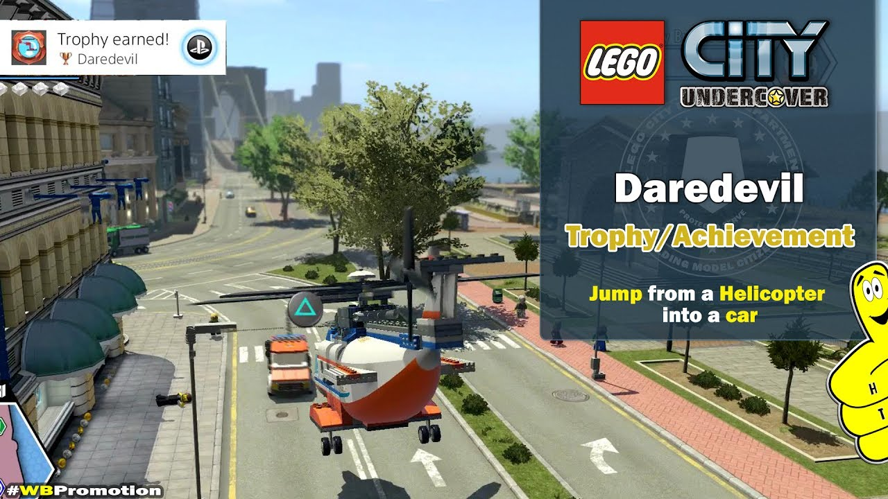 Lego City Undercover: Daredevil Trophy/Achievement – HTG