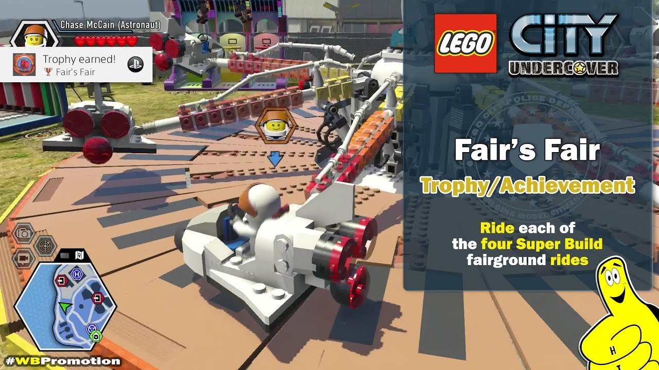 Lego City Undercover: Fair's Fair Trophy/Achievement – HTG
