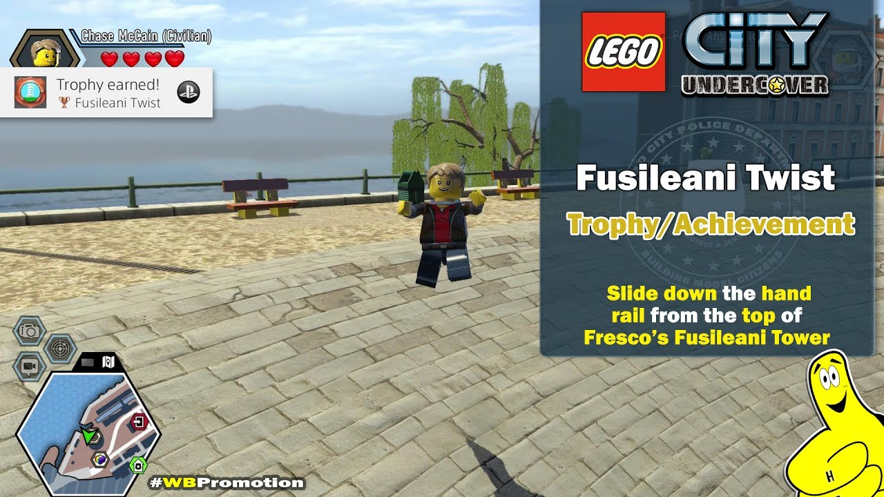 Lego City Undercover: Fusileani Twist Trophy/Achievement – HTG
