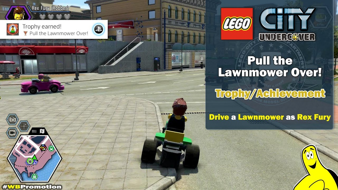 Lego City Undercover: Pull the Lawnmower Over! Trophy/Achievement – HTG