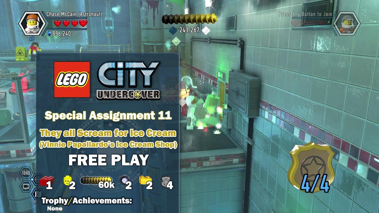 Lego City Undercover: Special Assign. 11 They All Scream for Ice Cream (Collectibles) FREE PLAY-HTG