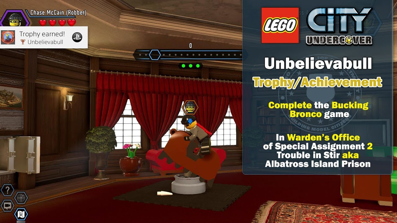 Lego City Undercover: Unbelievabull Trophy/Achievement – HTG