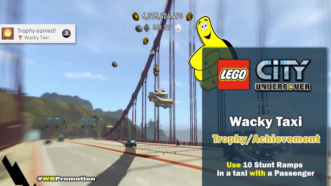 Lego City Undercover: Wacky Taxi Trophy/Achievement – HTG