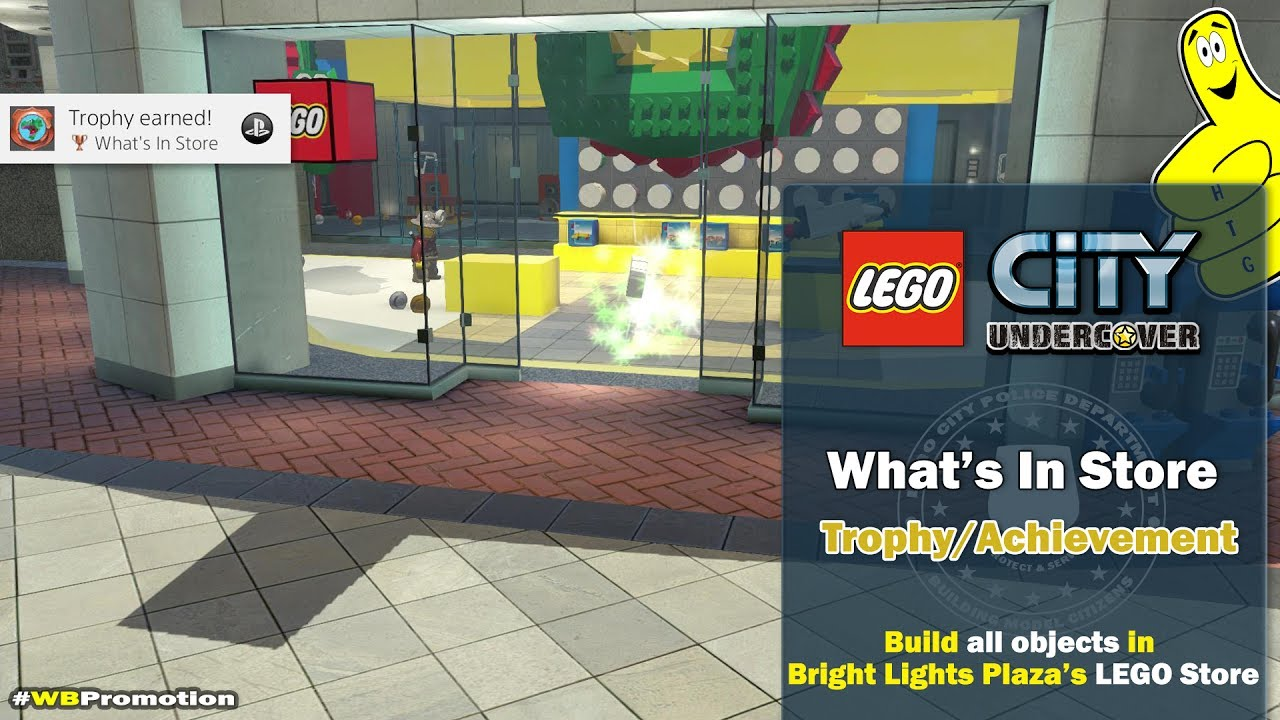 Lego City Undercover: What's in Store Trophy/Achievement – HTG