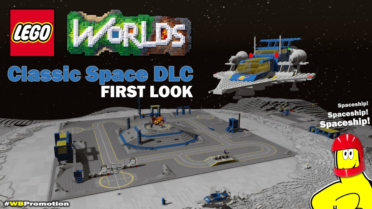 Lego Worlds: Classic Space DLC FIRST LOOK – HTG