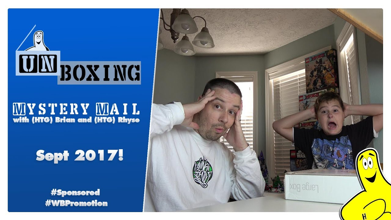 Mystery Mail Unboxing: September 2017 Mystery Box from WB! – HTG