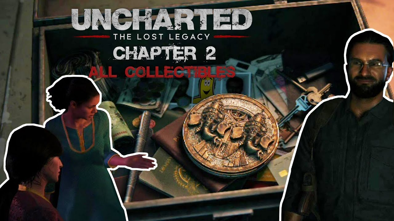 Uncharted The Lost Legacy: Chap 2/Infiltration (All Collectibles) – HTG
