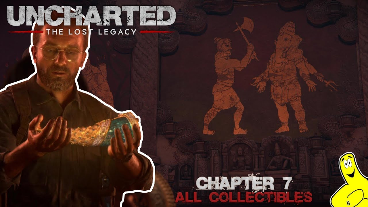 Uncharted The Lost Legacy: Chap 7/The Lost Legacy (All Collectibles) – HTG