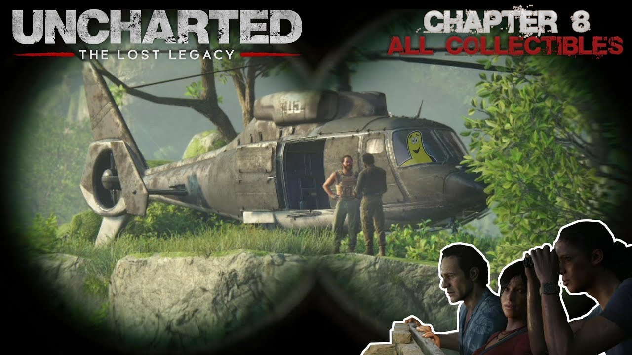 Uncharted The Lost Legacy: Chap 8/Partners (All Collectibles) – HTG