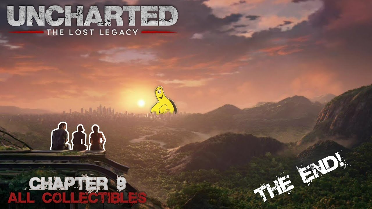 Uncharted The Lost Legacy: Chap 9/End of the Line (All Collectibles) – HTG