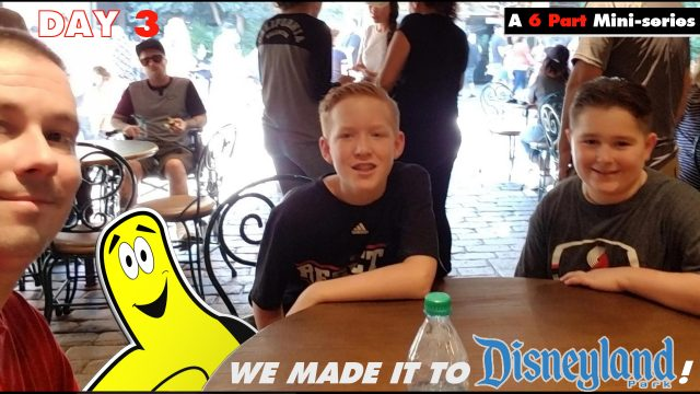 Cali Trip Day 3 (We made it to Disneyland!) – HTG