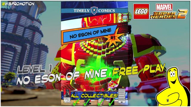 Lego Marvel Superheroes 2: Lvl 1 / No Eson Of Mine FREE PLAY (All Collectibles) – HTG