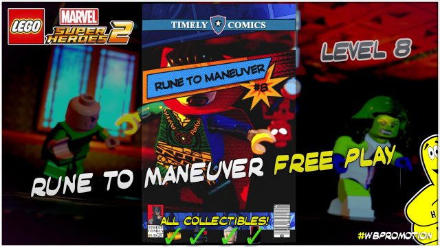 Lego Marvel Superheroes 2: Level 8 / Rune to Maneuver FREE PLAY (All Collectibles) – HTG