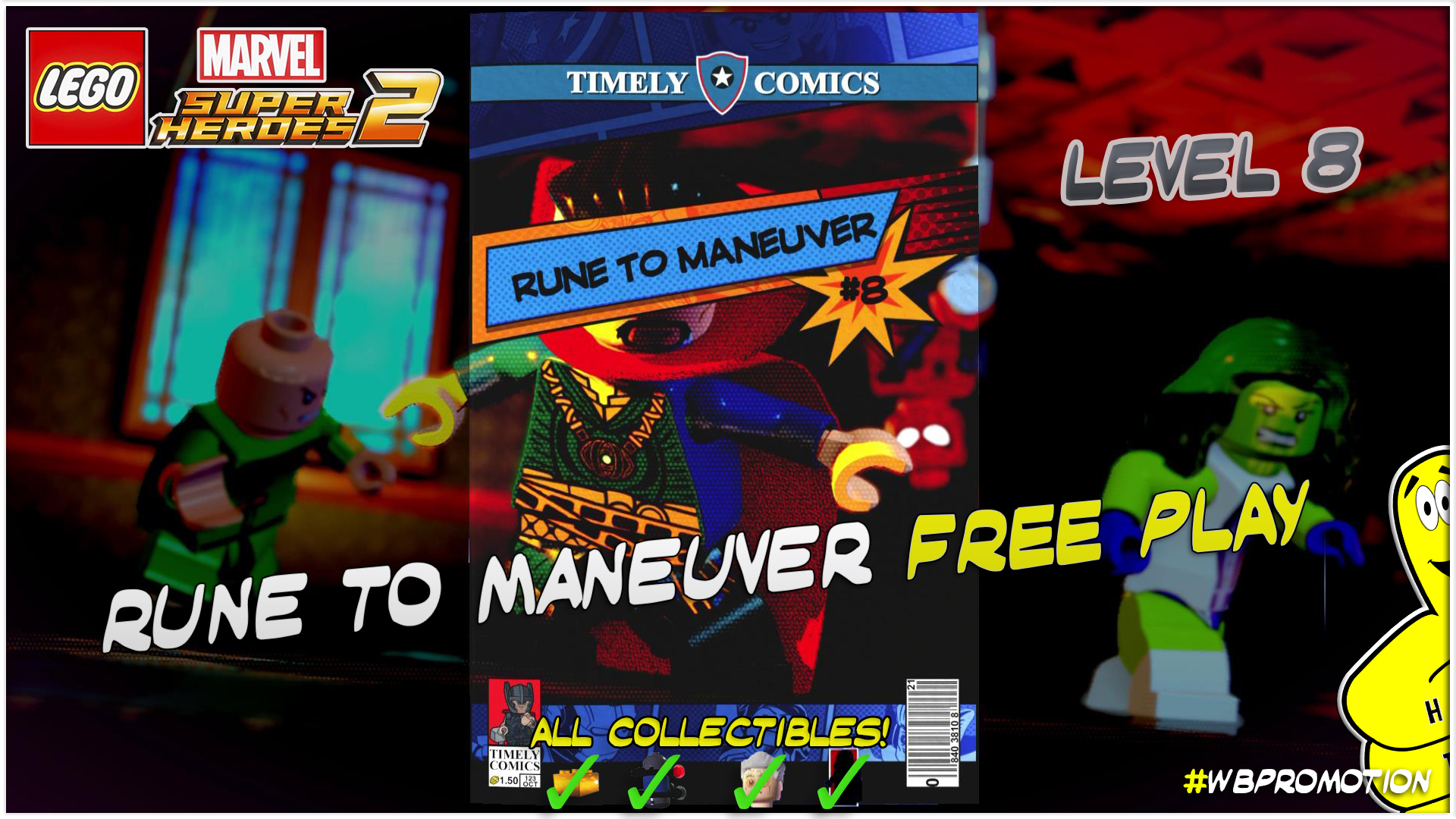 FREE PLAY Level 8 Thumb
