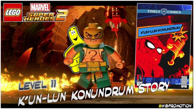 Lego Marvel Superheroes 2: Level 11 / K'un-Lun Konundrum STORY – HTG