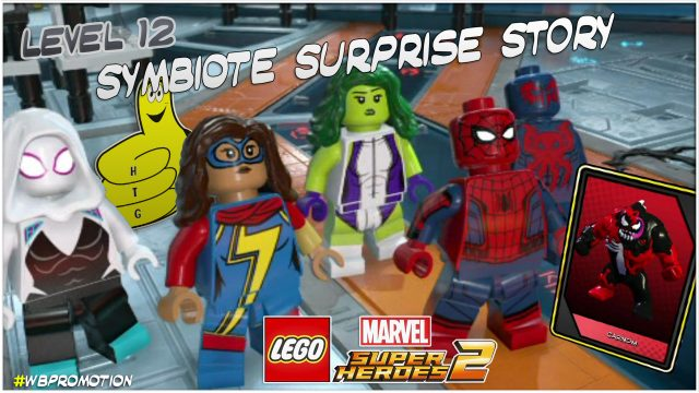 Lego Marvel Superheroes 2: Level 12 / Symbiote Surprise STORY – HTG