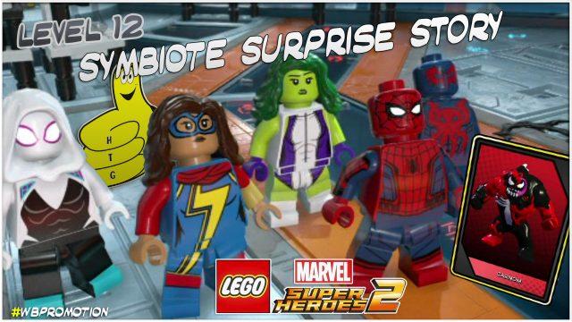Lego Marvel Superheroes 2: Level 12 / Symbiote Surprise STORY – HTG