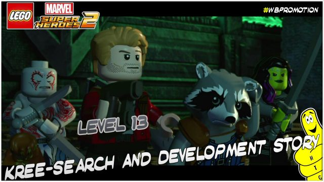 Lego Marvel Superheroes 2: Level 13 / Kree-Search and Development STORY – HTG