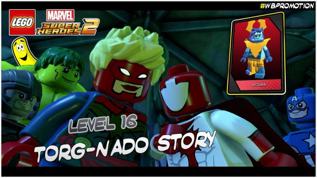 Lego Marvel Superheroes 2: Level 16 / Torg-Nado STORY – HTG
