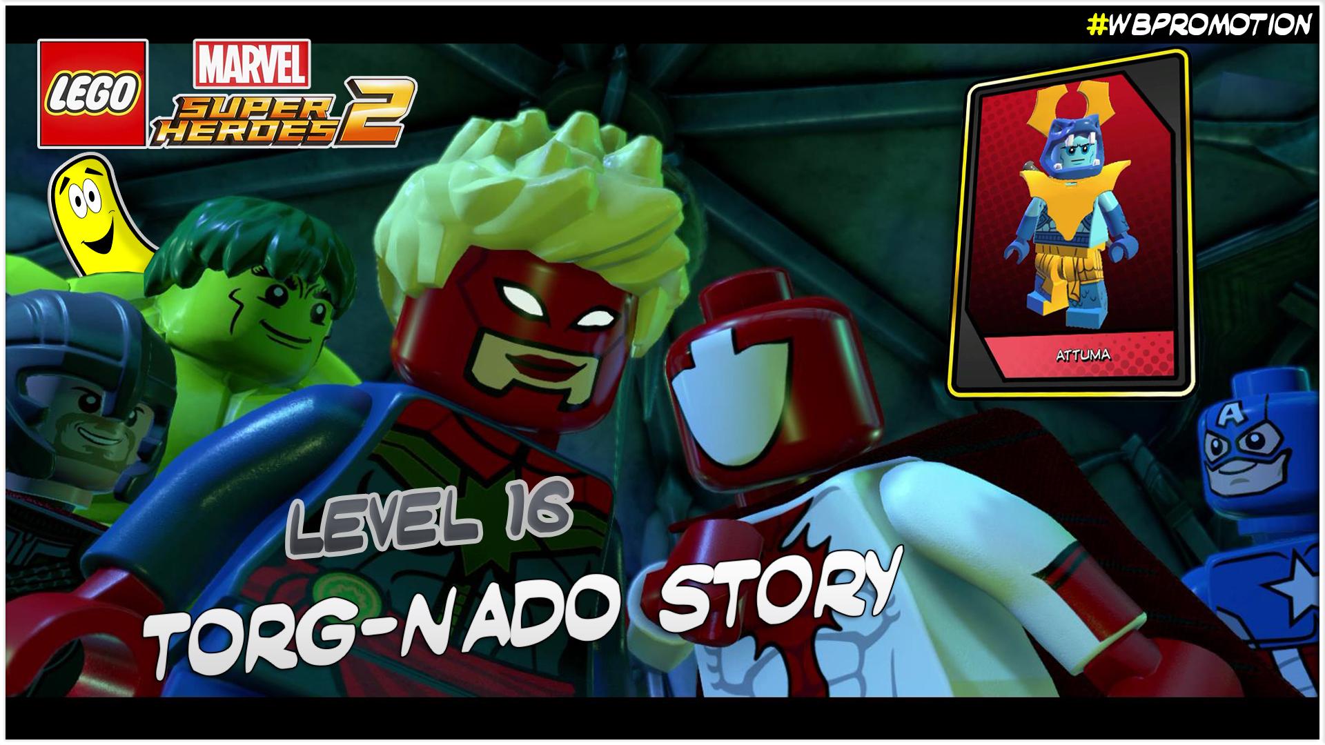 Lego Marvel Superheroes 2: Level 16 / Torg-Nado STORY – HTG