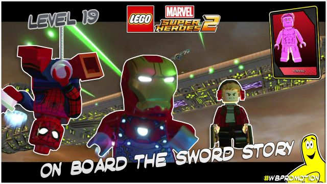 Lego Marvel Superheroes 2: Level 19 / On Board The Sword STORY – HTG
