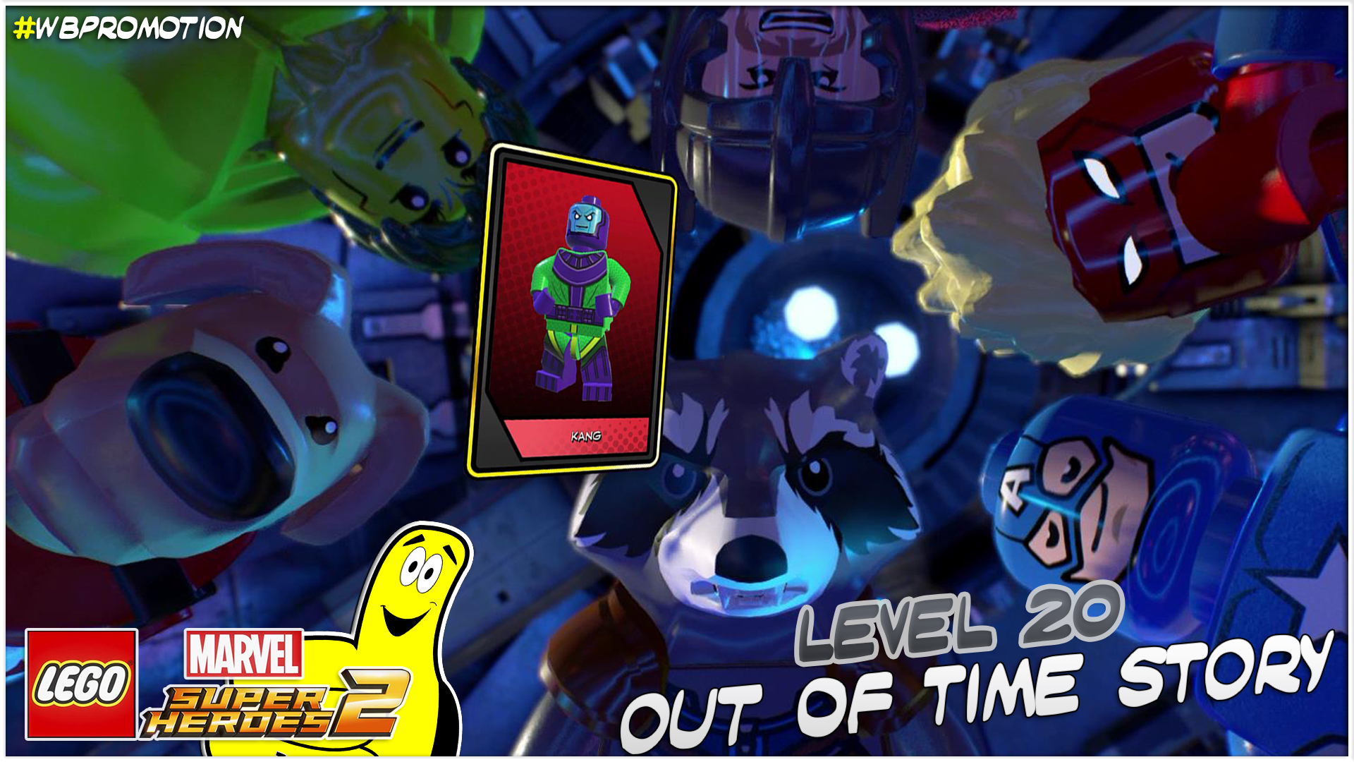 Lego Marvel Superheroes 2: Level 20 / Out Of Time STORY – HTG