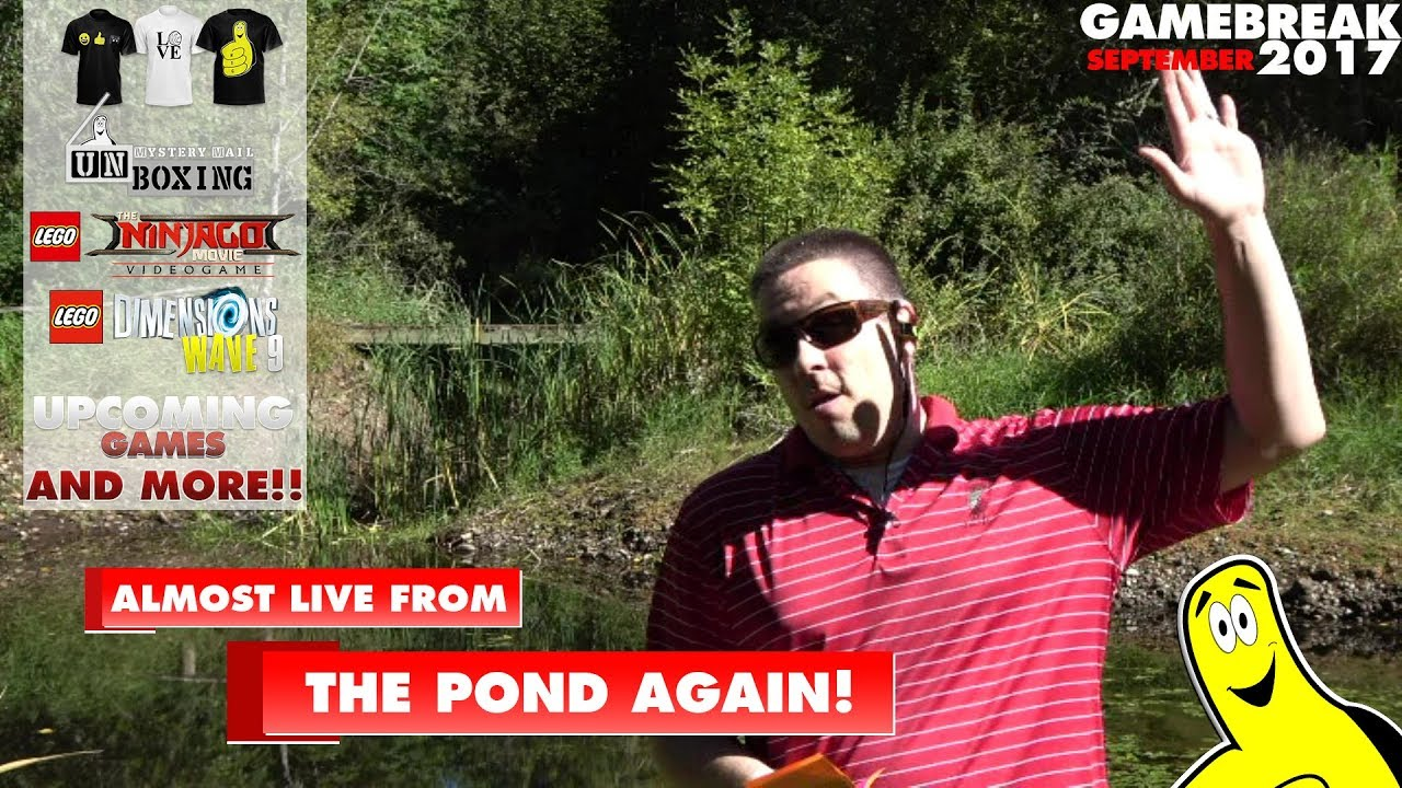Gamebreak: September (& August) 2017 with Brian (Almost Live From the Pond) – HTG