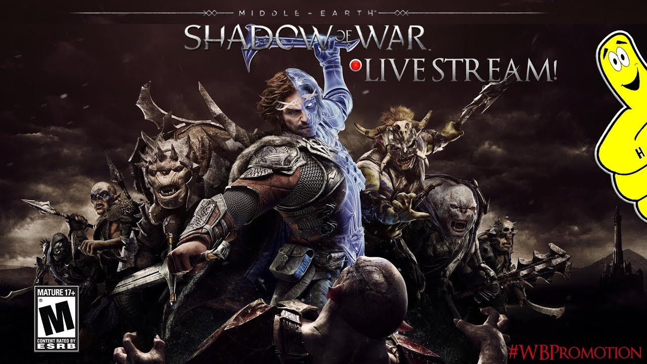 HTGtv: Middle Earth Shadow of War LIVE Stream with Brian – HTG