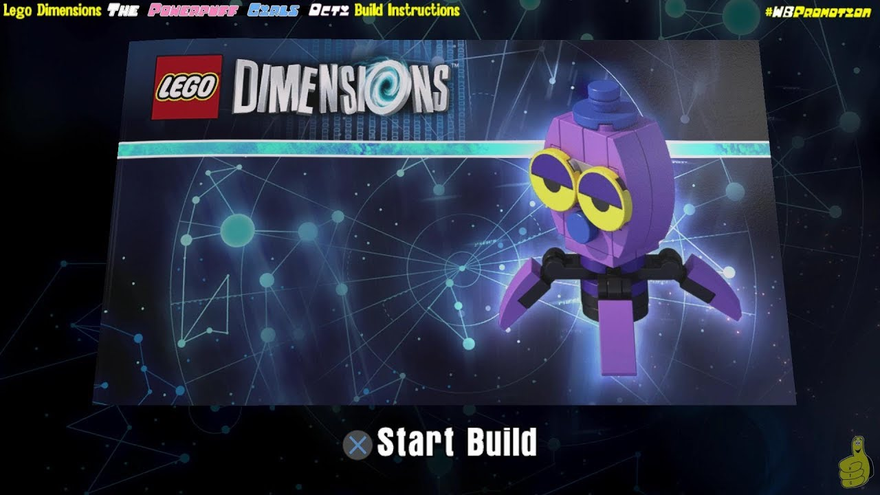 Lego Dimensions: Octi / Build Instructions (The Powerpuff Girls TEAM Pack #71346) – HTG