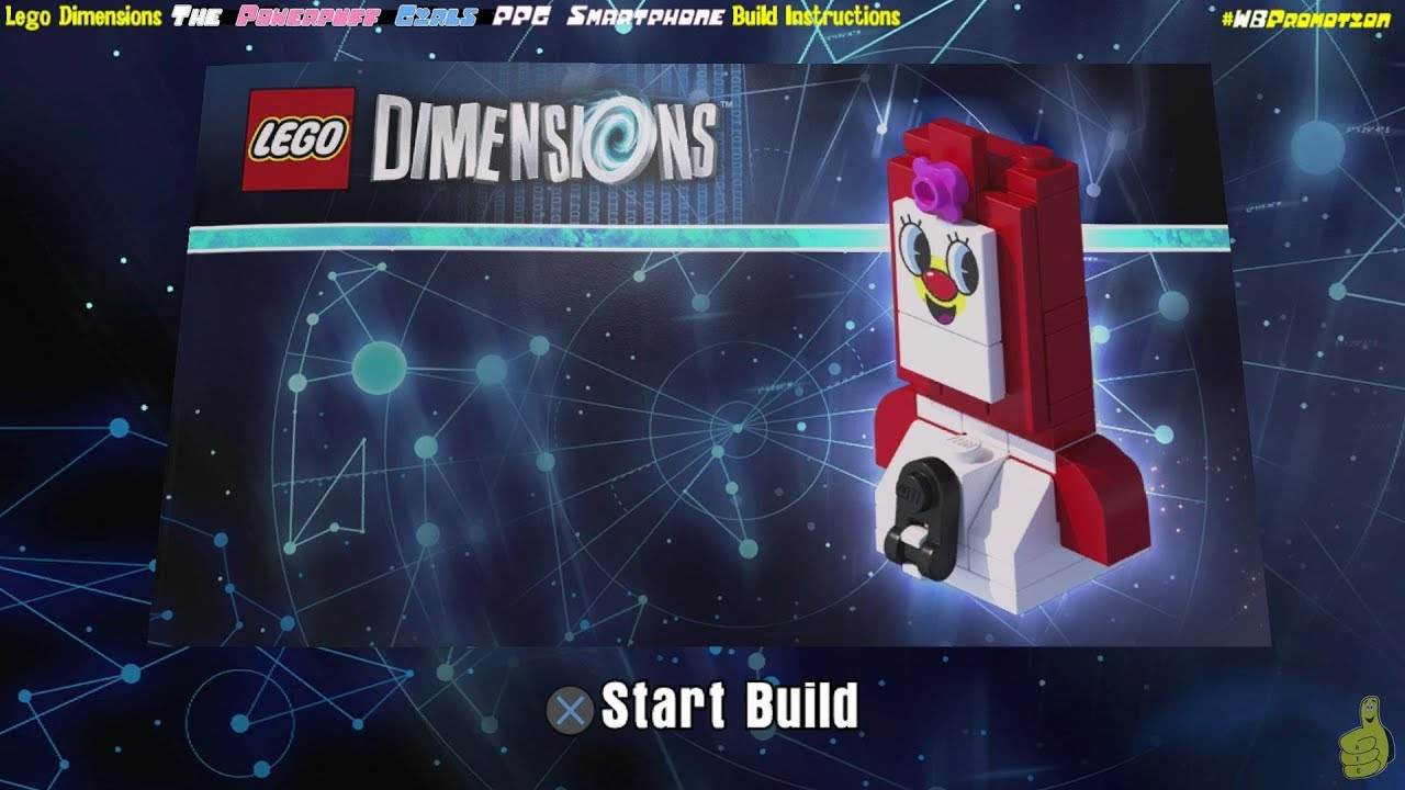 Lego Dimensions: PPG Smartphone / Build Instructions (The Powerpuff Girls TEAM Pack #71346) – HTG