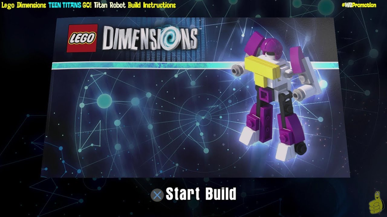 Lego Dimensions: Titan Robot / Build Instructions (Teen Titans Go! FUN Pack #71287) – HTG