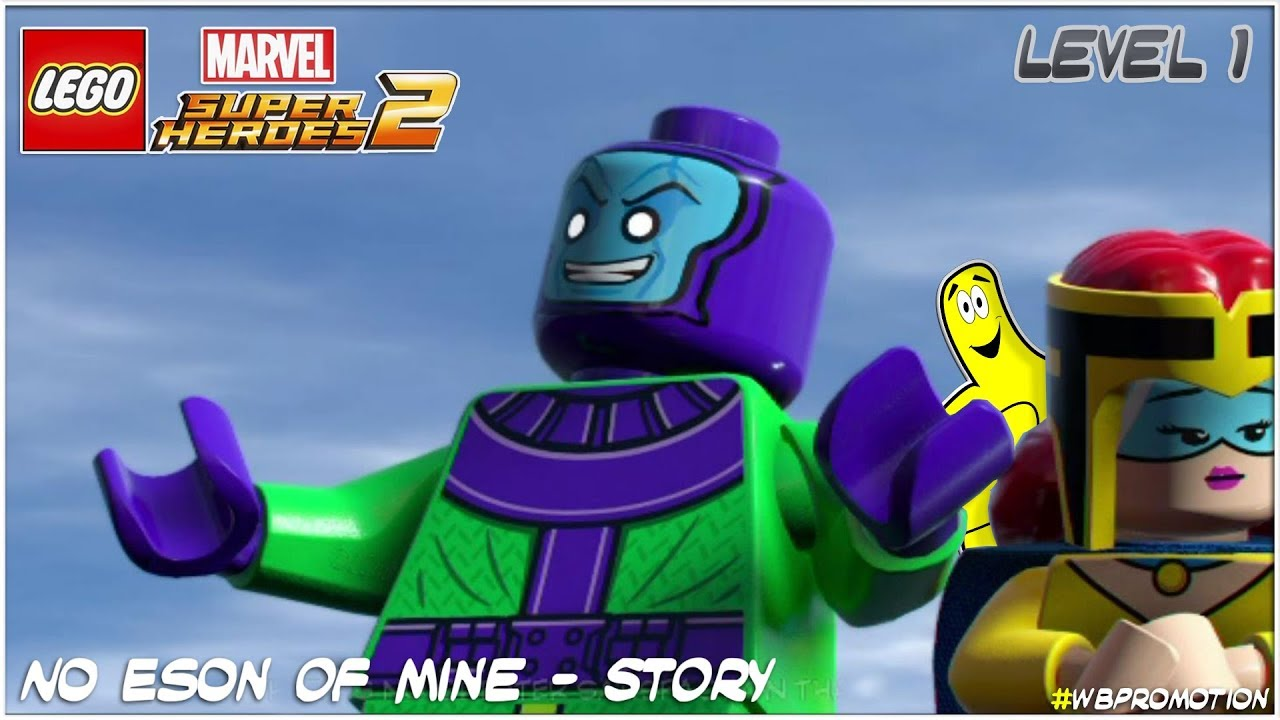 Lego Marvel Superheroes 2: Level 1 / No Eson Of Mine STORY – HTG