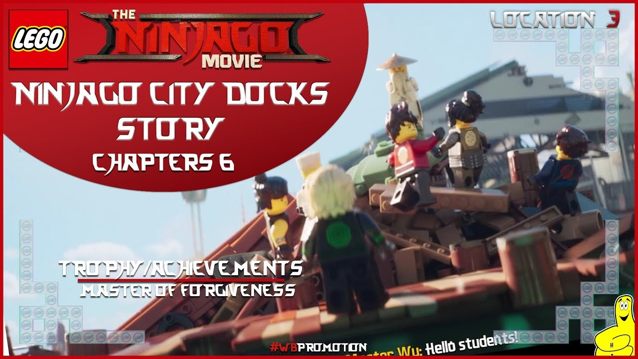 Lego Ninjago Movie Videogame: Location 3 / Ninjago City Docks STORY – HTG