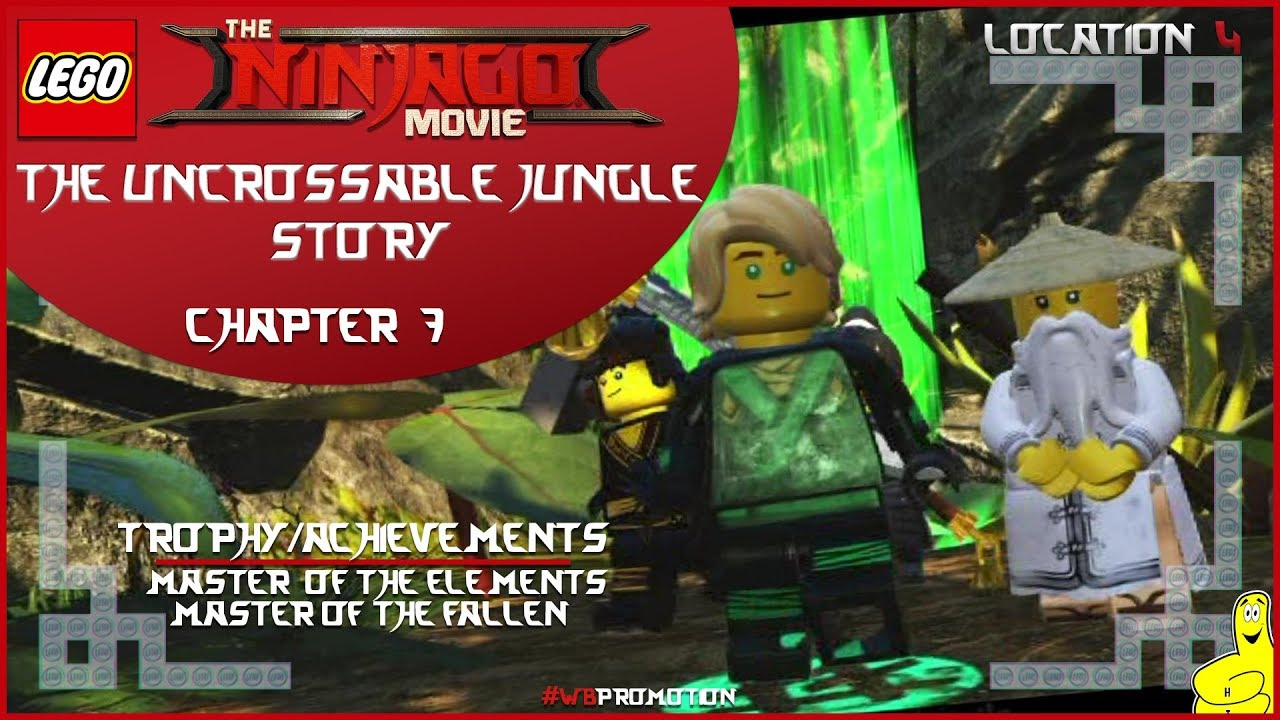 Lego Ninjago Movie Videogame: Location 4 / The Uncrossable Jungle STORY – HTG