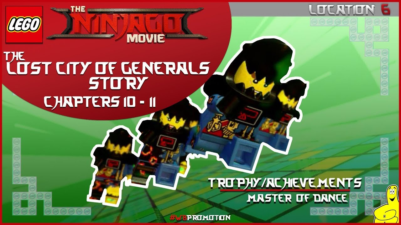 Lego Ninjago Movie Videogame: Location 6 / The Lost City of Generals STORY – HTG