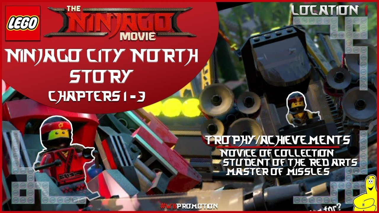 Lego Ninjago Movie Videogame: Location 1 / Ninjago City North STORY – HTG