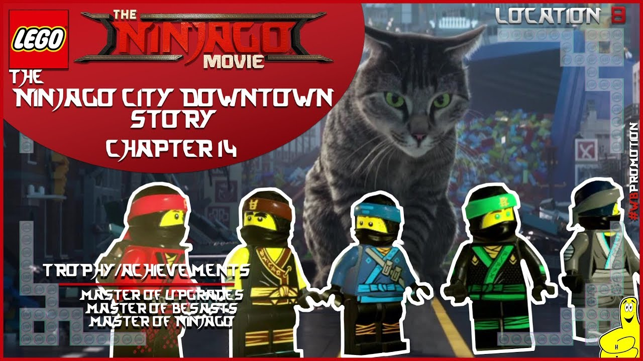 Lego Ninjago Movie Videogame: Location 8 / Ninjago City Downtown STORY – HTG