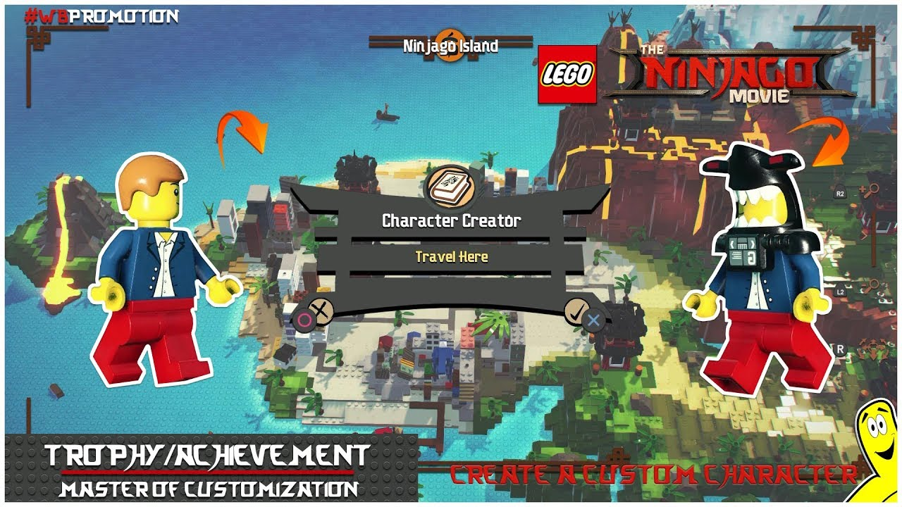 Lego Ninjago Movie Videogame: Master of Customization Trophy/Achievement – HTG