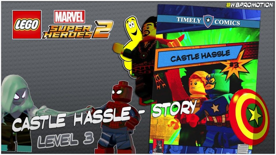 Lego Marvel Superheroes 2: Level 3 / Castle Hassle STORY – HTG