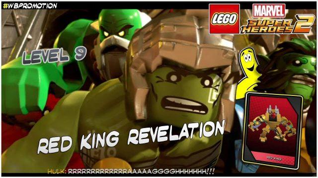 Lego Marvel Superheroes 2: Level 9 / Red King Revelation STORY – HTG