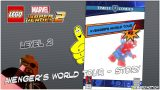Lego Marvel Superheroes 2: Level 2 / Avengers World Tour STORY – HTG