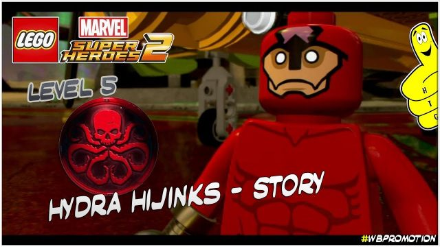 Lego Marvel Superheroes 2: Level 5 / Hydra Hijinks STORY – HTG
