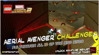 Lego Marvel Superheroes 2: Aerial Avenger Challenge – HTG