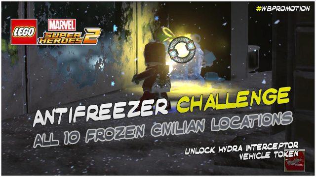 Lego Marvel Superheroes 2: Antifreezer Challenge – HTG