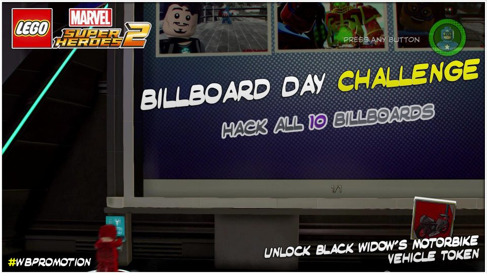Lego Marvel Superheroes 2: Billboard Day Challenge – HTG
