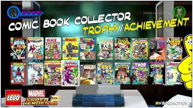 Lego Marvel Superheroes 2: Comic Book Collector Trophy/Achievement – HTG