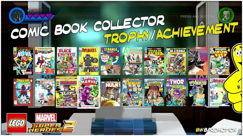 Lego Marvel Superheroes 2: Comic Book Collector Trophy/Achievement – HTG