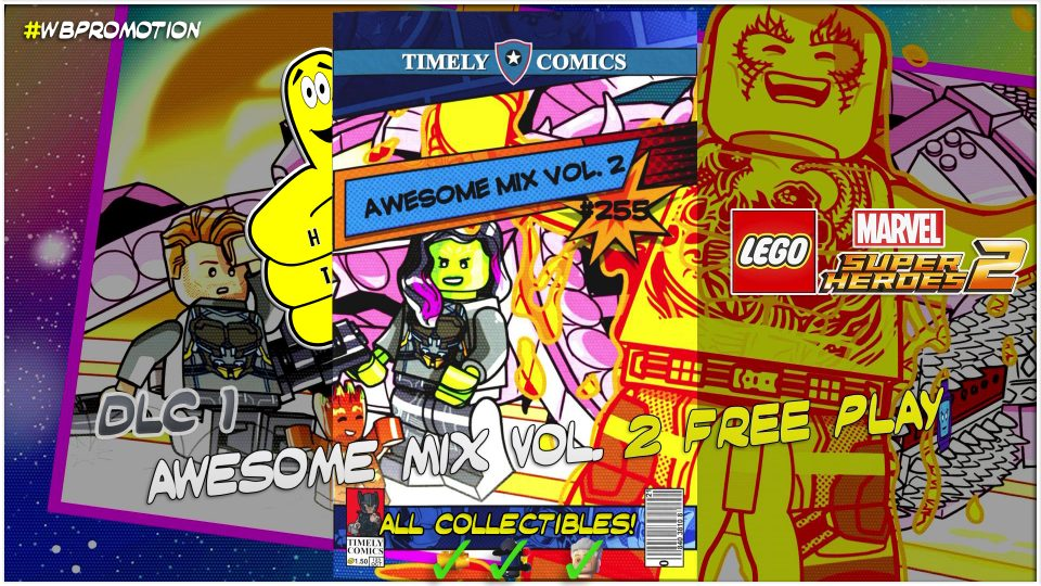 Lego Marvel Superheroes 2: Guardians of the Galaxy Vol. 2 DLC FREE PLAY (All Collectibles) – HTG